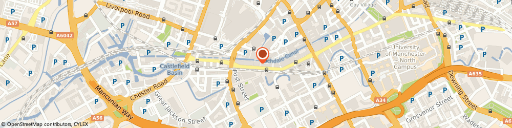 Route/map/directions to HGF Limited, M1 5WG Manchester, 17-19 Whitworth St W
