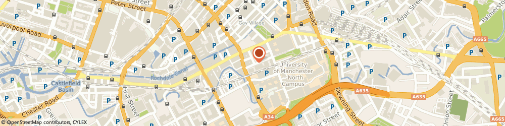 Route/map/directions to Cheshire Sporting Club Limited, M1 6NG Manchester, MANCHESTER HOUSE, 84-86 PRINCESS STREET