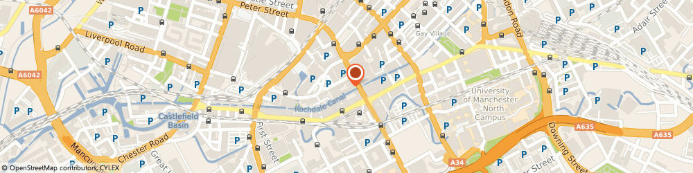 Route/map/directions to Trust Iv Ltd, M1 6EU Manchester, 56 Oxford St, Churchgate House