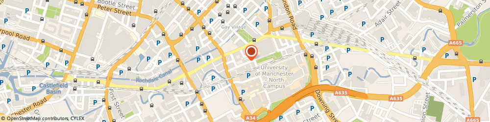 Route/map/directions to READY TO MANCHESTER LTD, M1 7AT Manchester, 58 Sackville Place Bombay Street