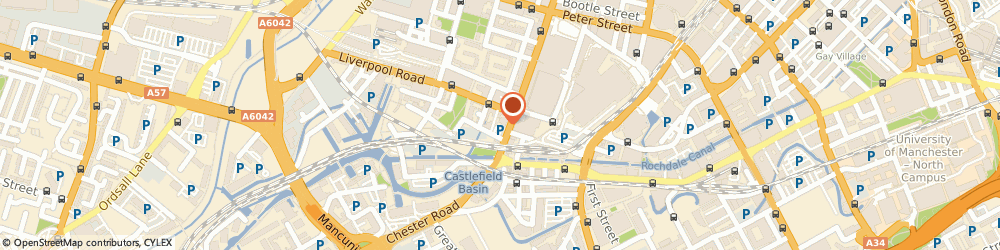 Route/map/directions to MW H&P LTD, M3 4LY Manchester, C/O Begbies Traynor, 340 Deansgate