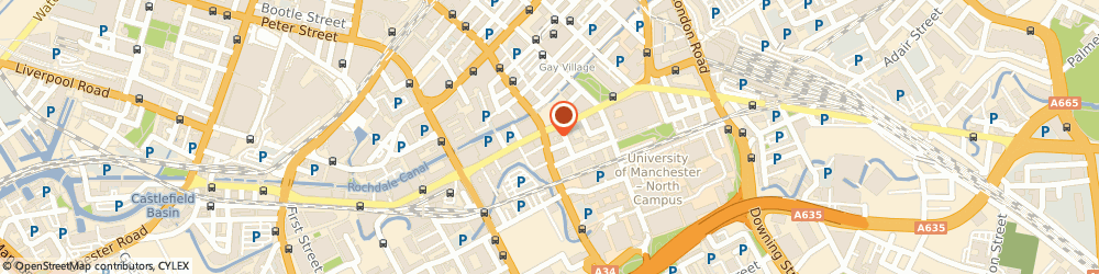 Route/map/directions to RBS The Royal Bank of Scotland ATM, M1 3NZ Manchester, 65 WHITWORTH STREET