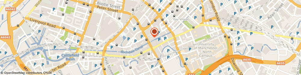 Route/map/directions to BPP Professional Education, M1 6FQ Manchester, 79 Oxford Street