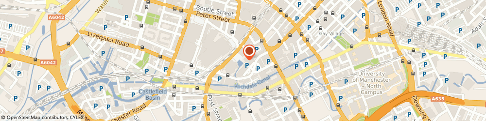 Route/map/directions to The Bridgewater Hall, M2 3WS Manchester, Lower Mosley Street