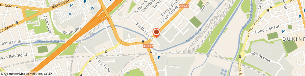 Route/map/directions to CHILL AIR CONDITIONING LIMITED, OL7 0NT Ashton-Under-Lyne, 277 Stockport Road, Guide Bridge