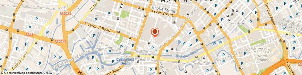 Route/map/directions to Howard Massey Ltd, M3 4LP Manchester, Arch 15, Watson Street