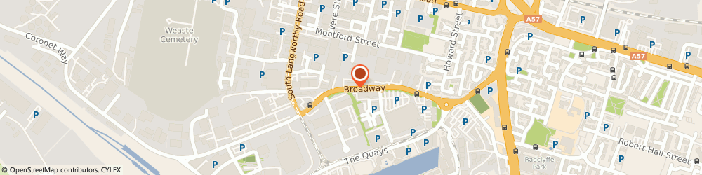 Route/map/directions to Swift Security Systems, M50 2TS Salford, 64 BROADWAY