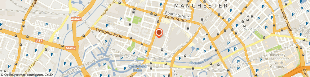 Route/map/directions to Wesley-Barrell, M3 4EW Manchester, 285 Deansgate