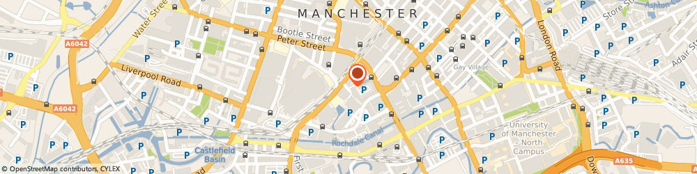 Route/map/directions to Dbm Manchester, M2 3WQ Manchester, Bartle House, 9, Oxford Court