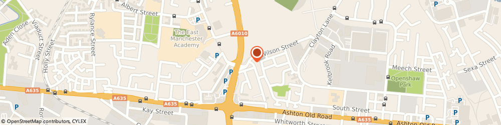Route/map/directions to The Bradford Hotel, M11 2AD Manchester, 461 Mill St