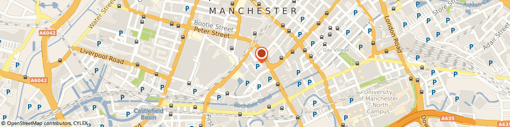 Route/map/directions to Legal Services Ombudsman, M2 3WQ Manchester, 22 Oxford Court