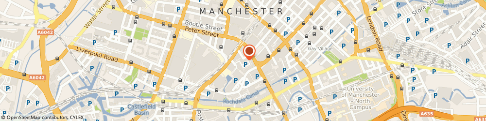 Route/map/directions to Castles Education, M2 3WQ Manchester, BARTLE HOUSE, OXFORD COURT