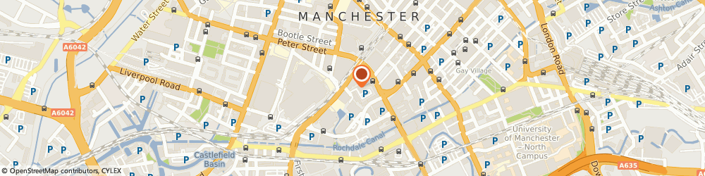 Route/map/directions to Anglo Irish Bank Corporation, M2 3WQ Manchester, 10 OXFORD COURT