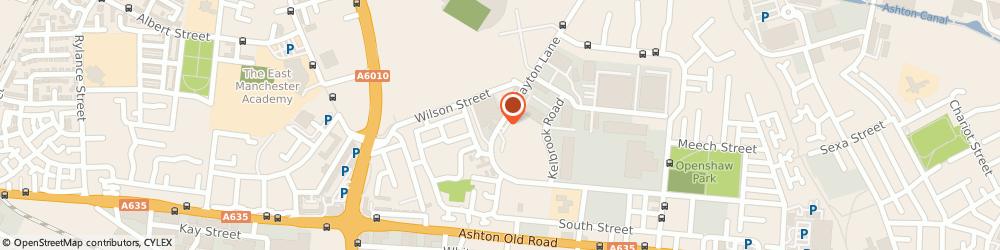 Route/map/directions to Fox Tavern, M11 2AS Manchester, 87 CLAYTON LANE