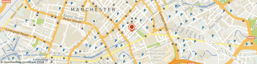 Route/map/directions to Centre Stage, M1 3LY Manchester, 51 Bloom Street