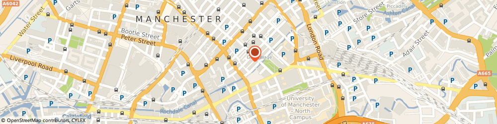 Route/map/directions to Dr. Barbara Kathryn Allan, M1 3LY Manchester, 55-59 Bloom Street