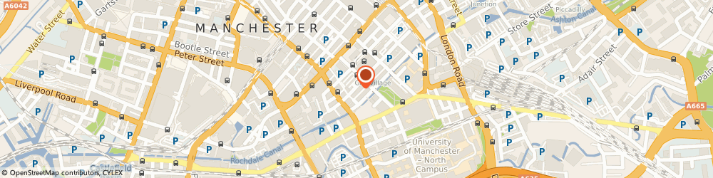 Route/map/directions to The Docs, M1 3LY Manchester, 55-59 Bloom Street
