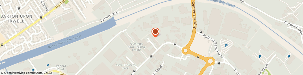 Route/map/directions to Rexel, M17 1SR Manchester, Unit 5 Harp Trading Estate
