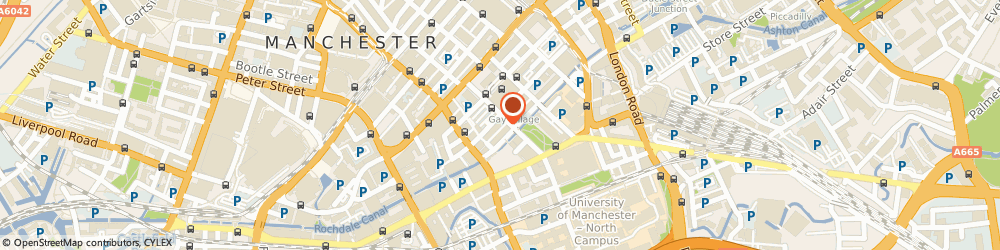Route/map/directions to Village Fast Food, M1 3LY Manchester, 41 Bloom Street