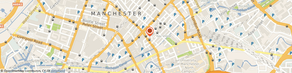 Route/map/directions to Debt Free Advice, M1 6DE Manchester, Princess Street