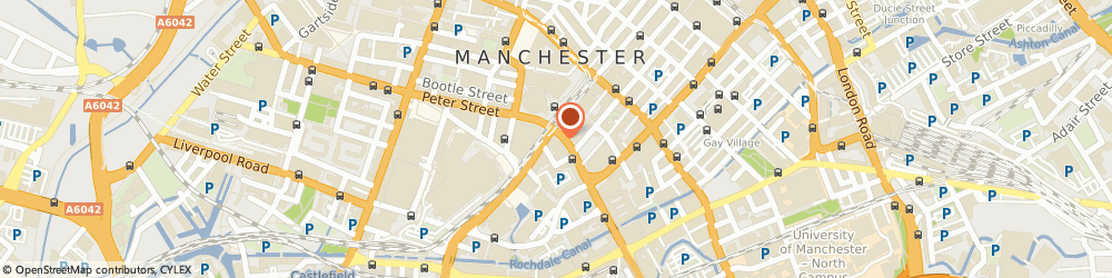 Route/map/directions to Papa John's Pizza, M1 5AN Manchester, 5 Peter House, Oxford Street