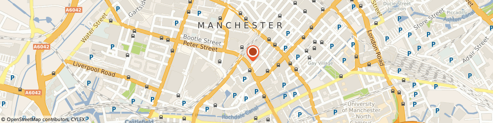 Route/map/directions to AXIS IP SERVICES LTD, M1 5AN Manchester, Peter House Oxford Street