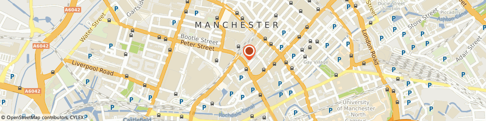 Route/map/directions to Olive Strachan Resources Ltd, M1 5AN Manchester, Oxford Street, Peter House