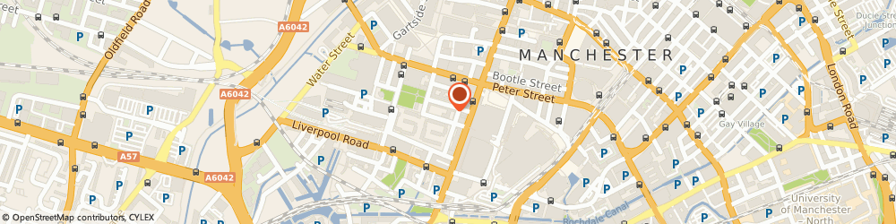 Route/map/directions to Paul Gilroy, M3 4DN Manchester, 9 St. John Street