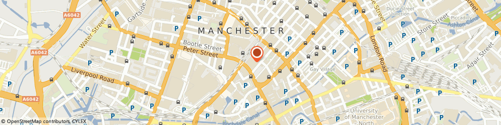 Route/map/directions to The Richmond Cabinet Co, M2 3AE Manchester, Kpmg Llp, 1 St Peter's Square