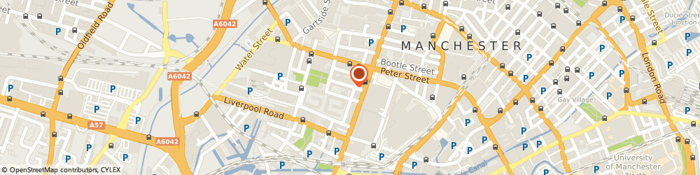 Route/map/directions to Hamilton Jaime, M3 4DN Manchester, 9 St. John Street