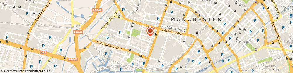 Route/map/directions to The Perrin Clinic Manchester, M3 4DW Manchester, 11 ST JOHN STREET