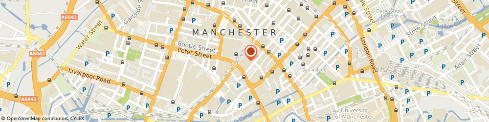 Route/map/directions to Napoleons Leisure Ltd, M2 3DE Manchester, One, St. Peters Square
