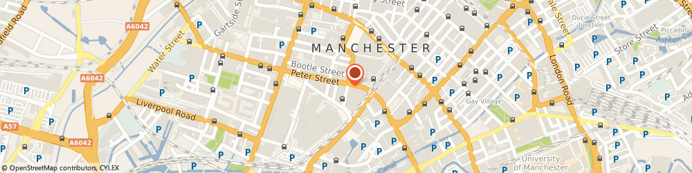 Route/map/directions to First National Bank PLC, M2 5NT Manchester, TELEVISION HOUSE 10-12 MOUNT STREET