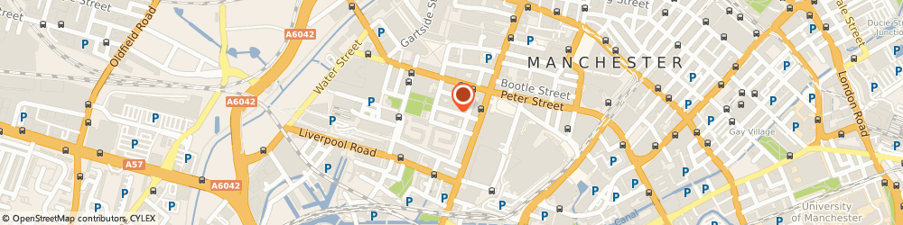 Route/map/directions to Carter Moore, M3 4DQ Manchester, 13 St. John Street