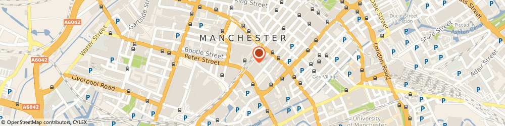 Route/map/directions to Shawbridge Management, M1 4FD Manchester, 4th Floor, Hanover House, 30-32 Charlotte Street