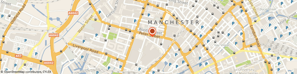 Route/map/directions to Christian Science - Site Of Church Manchester, M2 5GP Manchester, 42 PETER STREET
