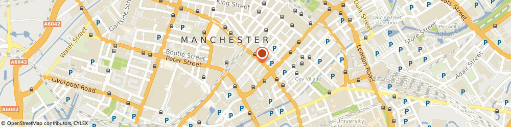 Route/map/directions to Pathfinders, M1 4LB Manchester, 28-32 Princess Street