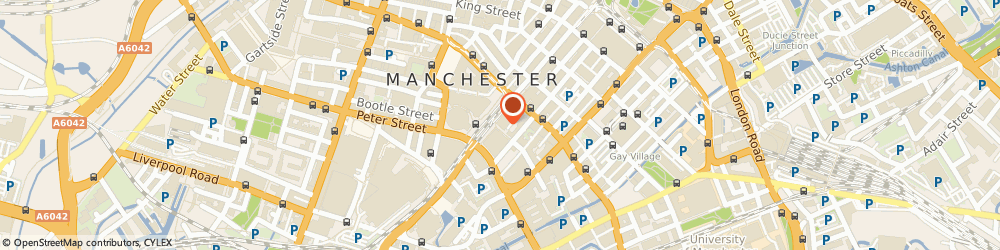 Route/map/directions to Scott Lang & Co.ltd, M2 3DN Manchester, CENTURY HOUSE, ST. PETERS SQUARE