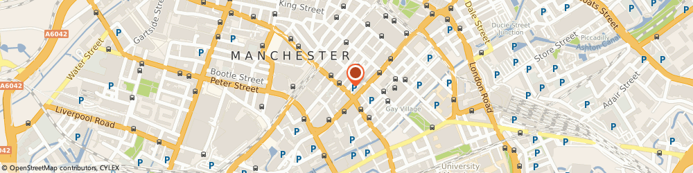 Route/map/directions to Carlton House Group Limited, M1 4HT Manchester, 91 PRINCESS STREET