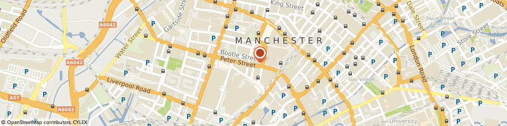 Route/map/directions to The Royal Bank Of Scotland Group Independent Financial Services Ltd, M2 3NR Manchester, 49, PETER STREET