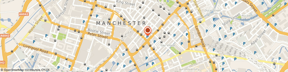 Route/map/directions to Special Touch Event Hire, M1 4HT Manchester, 91 Princess street