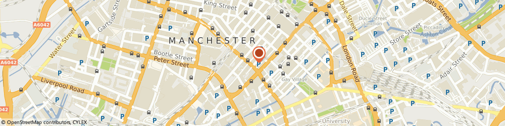 Route/map/directions to Exceed Sameday Couriers, M1 4HT Manchester, 91 Princess Street
