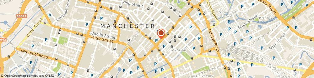 Route/map/directions to TASTY CHINA LIMITED, M1 4FF Manchester, 2Nd Floor, 59/61 Faulkner Street