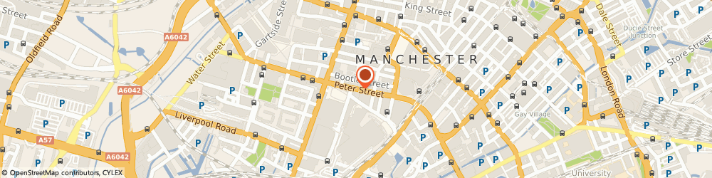 Route/map/directions to Naval Establishments, M2 5QJ Manchester, PETERSFIELD HOUSE 29 31 PETER STREET PETER STREET