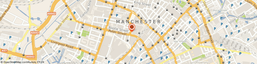 Route/map/directions to First National Home Finance Ltd, M2 5NB Manchester, 10-12 MOUNT STREET, TELEVISION HOUSE