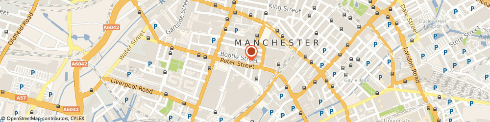 Route/map/directions to Doubletake Studios, M2 5GB Manchester, 37 Peter Street