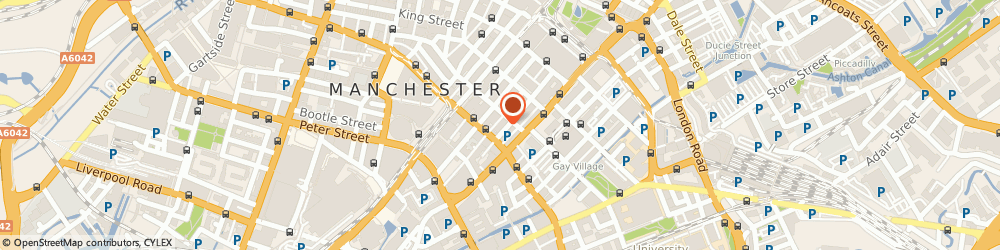 Route/map/directions to Lewis Bookmakers, M1 4FH Manchester, 48A . FAULKNER STREET