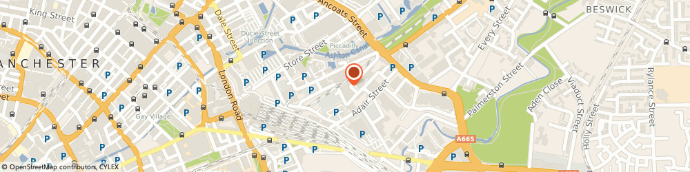 Route/map/directions to V Infotech, M1 2WX Manchester, RAMMON HOUSE, 1 PORTUGAL STREET EAST