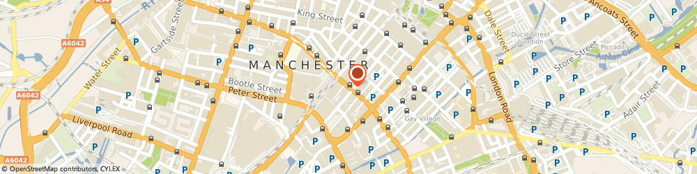 Route/map/directions to K S & K M Yeung, M1 4JY Manchester, 34 Princess Street