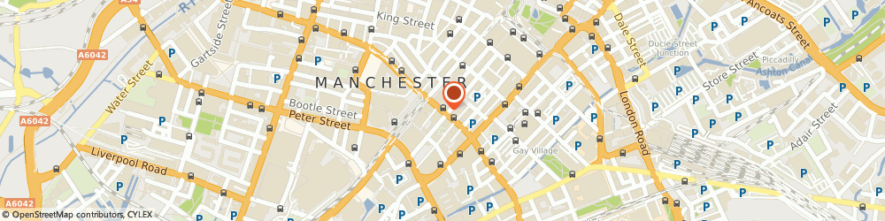 Route/map/directions to Mercury Cooling Solutions Limited, M2 4DN Manchester, 9/21 PRINCESS STREET